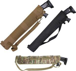 "Tactical Shotgun Scabbard 30"" Gun Carrying Case Pack Rifle Range Pouch Holster"