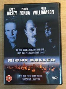 NIGHT CALLER (aka SOUTH BEACH) - DVD - BRAND NEW - GARY BUSEY