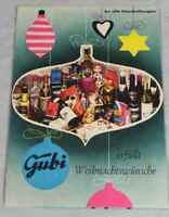 Altes Prospekt / Werbebroschur der GUBI Lebensmittelkette - wohl 60er Jahre /240