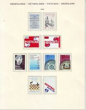 Niederlande Holland Pays Bas 1978 Lot 1**