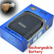 AXON K-88 Best Rechargeable acousticon In Ear Hearing Aid Aids Sound Amplifier