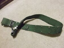 US MILITARY INDIVIDUAL EQUIPMENT NYLON BELT SIZE LARGE