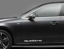 Bedside Sticker (2) Decals Fit on Quattro Audi