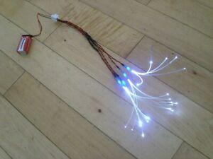 Star Wars Model Fibre Optic Led Light Kit Model Making Diorama COOL WHITE