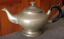 ANTIQUE LATE 1800'S PEWTER TEAPOT BY PHILIP ASHBERRY & SONS SHEFFIELD ENGLAND