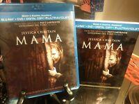 MAMA (Blu-Ray + DVD) w/Slipcover - Jessica Chastain - Horror Thriller - 2013 *NM