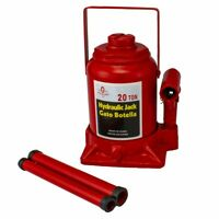 20 Ton Low Profile Hydraulic Bottle Jack | Automotive Shop Lift Tools