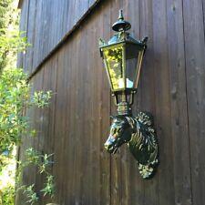Aussenlampe mit Pferdekopf, Stallbeleuchtung, Gartenlampe