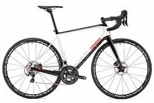 2017 ZERO GENESIS DISCO Gents Road Bike frameset 55cm frame LG & FORCHETTE di nuovo in scatola