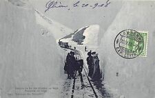 BR36323 Chemin de fer des Rochers de Naye Tranchee de neige     Switzerland