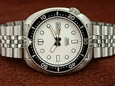 BIG CUSHION WHITE MM300 MOD DIVER 6309-7040 TURTLE AUTOMATIC MEN WATCH 175277