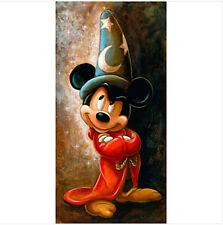 Disney  Mickey Mouse the Apprentice Darren Wilson Art Print 12 x 20 Sorcerer