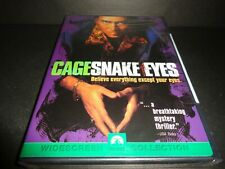 Snake Eyes-Was corrupt cop Nicolas Cage involved in government assassination-Dvd