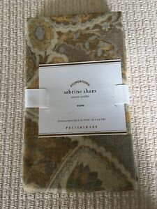 1 Pottery Barn Sabrine Euro Sham Absolutely Beautiful!!