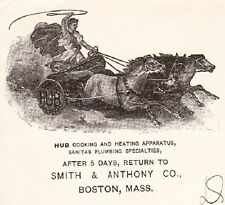 Hub Cooking Apparatus Smith & Anthony Ben Hurr Logo Boston 1906 Cover 5x