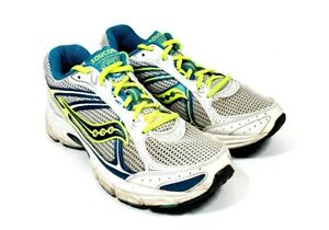 Saucony Cohesion 7 Womens 8.5M Running Walking Sneakers Shoes White #E2