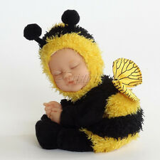 "Anne GEDDES poupées BEAN FILLED COLLECTION NEUF dans une boîte cadeau Baby Bee doll 9"""