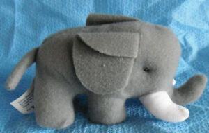 Elephant - Endangered Animals - McDonald's 1997 - plush - 10cm