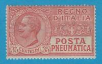 ITALY D13 PNEUMATIC POST - MINT NEVER HINGED OG ** NO FAULTS VERY FINE !