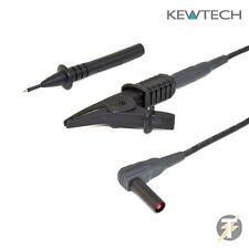 Kewtech ACC71TL tierra Bond Plomo Para KT71 y KT72 Comprobador de Pat además de más marcas