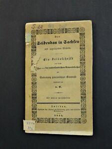 Der Seidenbau in Sachsen und angrenzenden  Ländern Carlowitz Georg Heinrich 1844