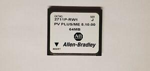 Allen Bradley 2711P-RW1 Panelview Plus Windows ME 5.10.00 64MB