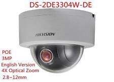 Hikvision DS-2DE3304W-DE 3MP POE 2.8~12mm Zoom Mini PTZ Camera English Version