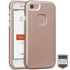 Cellairis Rapture Case for Apple iPhone 7 - Rapture Rose Gold/White Matte Finish