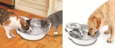 Pioneer pet big max fountain 1 gallon Ceramic multi cat White