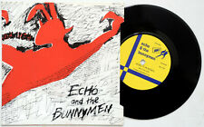 """Echo And The Bunnymen The Pictures On My Wall 7"""" Single P/S vinyl Zoo 1979 Ex."""