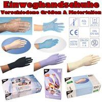 Latexhandschuhe Vinyl Nitrilhandschuhe Medizinische Einweg Nitril Handschuhe