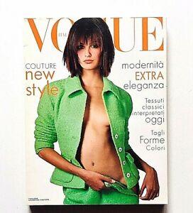 Vogue Italia n.535 marzo 1995 Alta moda Trish Goff Carla Bruni Claudia Schiffer