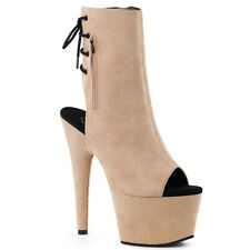 """PLEASER Adore-1018FS Series7"""" Heel Ankle-High Boot"""