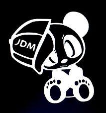 Panda Bear JDM  Sticker Decal Vinyl  Car Truck Drift Racing Funny Window Honda
