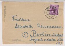 Bizone/AM-Post, 15b EF, Goslar, 27.2.46, Faltbf-VS
