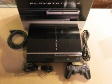 Complete Sony PlayStation 3 PS3 Backward Compatible PLAYS PS1 PS2 PS3 CECHA01