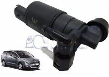 Front & Rear Windscreen Washer Water Pump Peugeot 5008 2009 > 2014