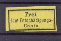 DR D I Dienstmarke ungebraucht (*) Kurzbefund Jäschke-Lantelme (ts245)