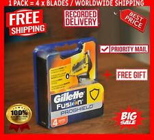 Gillette Fusion Proshield Men Razor 4 Blades Cartridges / Rasierklingen