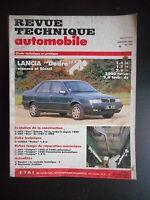 Revue technique automobile n°535 01/1992 Lancia Dedra essence et diesel
