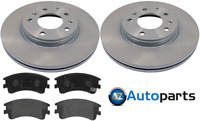 For Mazda - 6 2.0 DI 2.0 2.3 2002-2007 (GG)(GY) Front 283mm Brake Discs and Pads