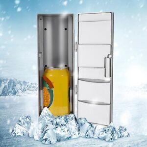 Mini USB Fridge Portable Refrigerator Travel Car Freezer Can Drink Cooler Warmer