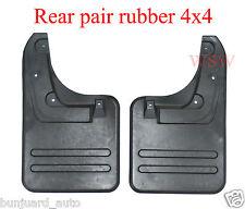 REAR MUD FLAP SPLASH GUARD TOYOTA HILUX MK6 MK7 VIGO SR5 05-09 4x4 4WD 10 11 12