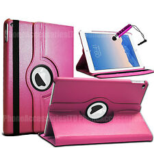 360 Rotating Leather Case Stand Cover For Apple Ipad Air 2 Ipad 6 + Screen Guard