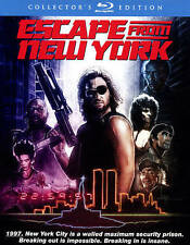 Escape from New York Blu-ray Disc 2015 2-Disc Set Collectors Edition Slip Cover