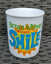More details for brian wilson presents smile uk concert tour coffee cup mug nos the beach boys