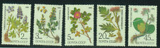 Russia Stamps 1985 Medicinal Plants from Siberia complete set MNH