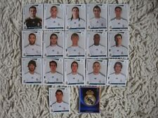PANINI STICKERS  champions league 2009/10  REAL  COMPLETE SET 09/10