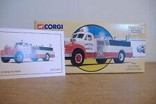 ~Corgi~Classic Fire Service~Mack B Series Pumper~Paxtonia Fire Co~98486~