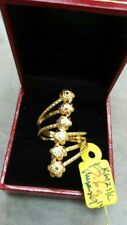 GoldNMore: 21K Gold Ring Size 9 TPSG